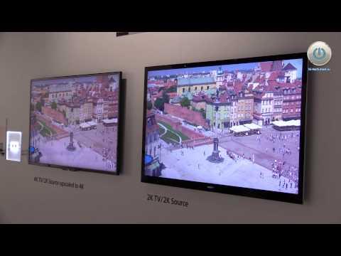 видео: sony на ifa 2013: первый в мире изогнутый led-телевизор и пополнение линейки 4К