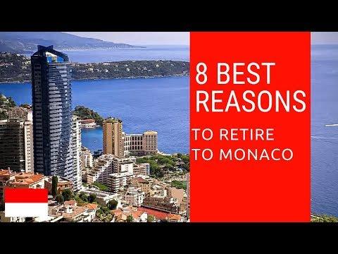 8 Best reasons to retire to Monaco!  Living in Monaco