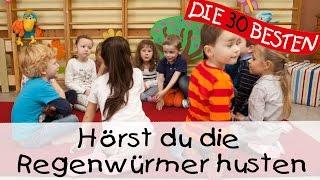 Hörst du die Regenwürmer husten - Singen, Tanzen und Bewegen || Kinderlieder
