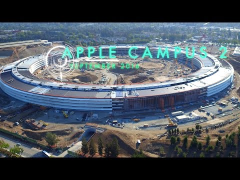 SPECTACULAR APPLE CAMPUS 2 September 2016 Construction Update