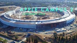 APPLE CAMPUS 2: September 2016 Construction Update