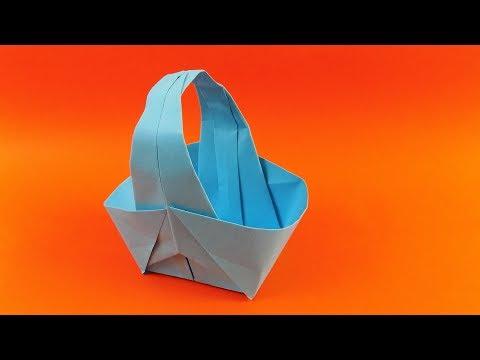 Cara Membuat Origami Keranjang