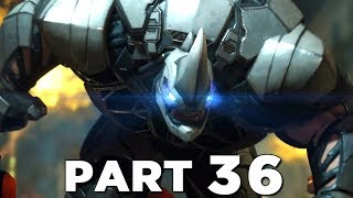 SPIDER-MAN PS4 Walkthrough Gameplay Part 36 - RHINO (Marvel's Spider-Man)