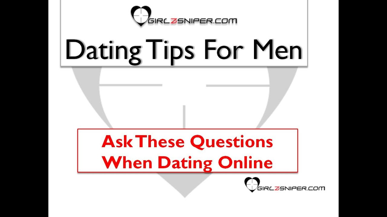 Here are some online dating questions to.