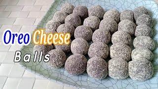 Oreo Cheese Balls Recipe | How to make Oreo Cheese Pastillas Balls