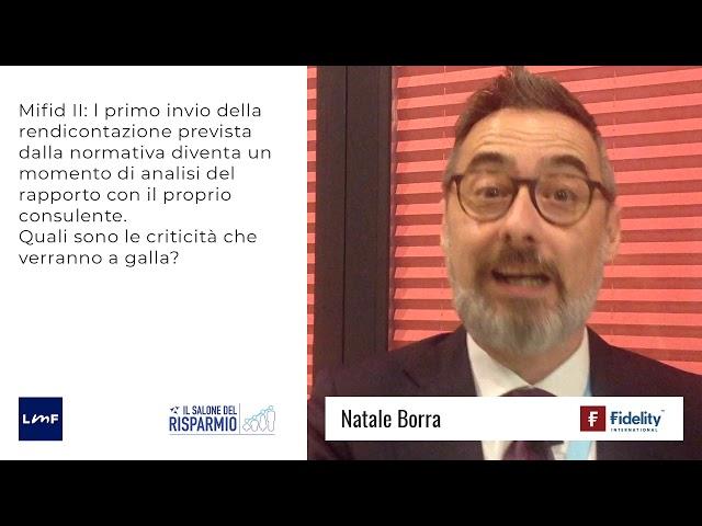 Natale Borra (Fidelity) - SdR19