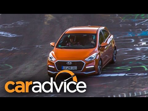 2015 Hyundai i30 Turbo Review Nurburgring
