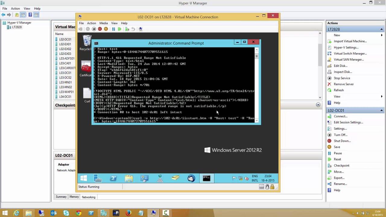 IIS Exploit can reboot your Windows Server