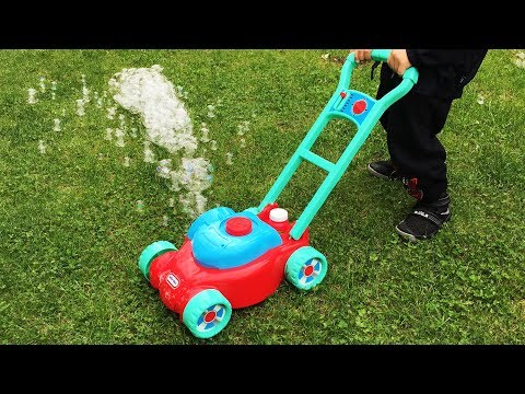Toy Lawn Mower FISHER PRICE Backyard Lawn Mowers Play With Brothers R Us!