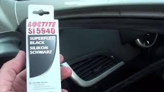 Recoller un joint de porte voiture