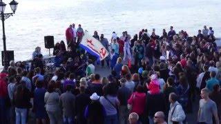 Севастополь 9 мая 2016. Народные гуляния после парада(Расширенная версия этого видео: https://youtu.be/dtUL7Sm8PR8 Парад Победы в Севастополе 9 мая: https://youtu.be/gY-wOnpXPZU., 2016-05-10T11:56:52.000Z)