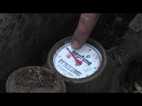 How To Locate Your Home's Water Meter & Water Shut Off Valve