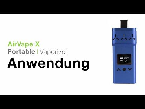 AirVape X Vaporizer Verdampfer Anwendung – TVape