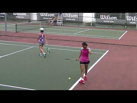 8 Female Players, ITF (International Tennis Federation 2017)
