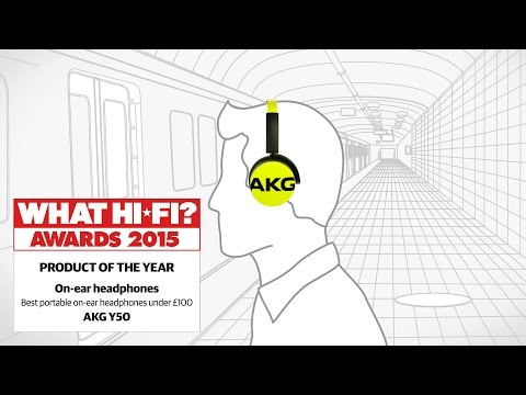 Best portable on-ear headphones 2015 - AKG Y50