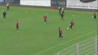 Открытая тренировка «Зенита» перед матчем с «Динамо»