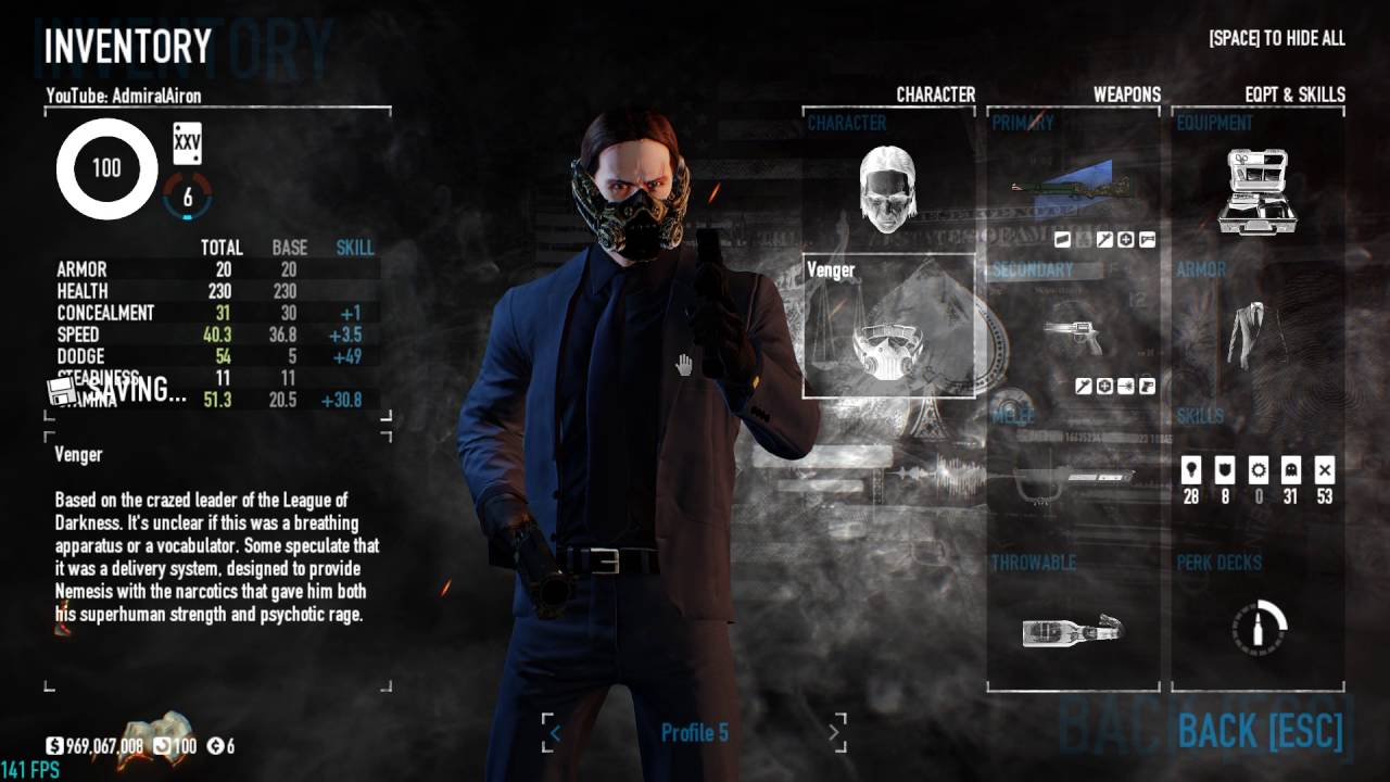 gl40 matever one down team build payday 2 youtube. Black Bedroom Furniture Sets. Home Design Ideas