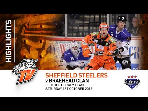 Sheffield Steelers v Braehead Clan - EIHL - Saturday 1st October 2016