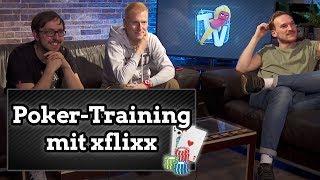 Pokertraining mit xflixx, Lars & Andreas #07 | 06.11.2018