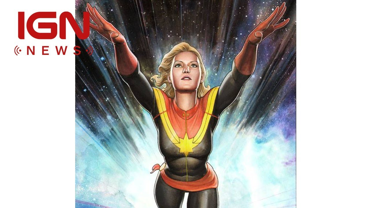 See Oscar Winner Brie Larson as Captain Marvel in First Look From Set