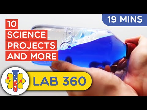 10 Science Projects for Elementary School Students by Lab 360