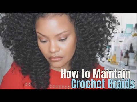 EASY CROCHET BRAIDS MAINTENANCE MOISTURIZE & MANAGE FRIZZ (ALOPECIA, FINE HAIR, THINNING HAIR)