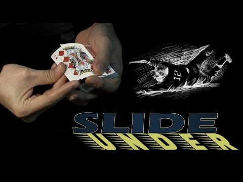 Card Trick Tutorial - Slide Under (Double Lift)