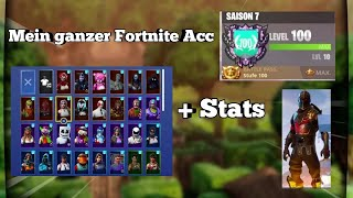 🔥 My Fortnite Acc/Locker 😱 Over 90 Skins / GhosT RayZ
