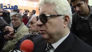 """بالفيديو : مرتضي منصور لو في مصنع بيطلع الادب و الذوف و الاخلاق هيكون """" حمادة امام """""""