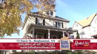 72 Davis St., Binghamton, NY - The John Burns Real Estate Show