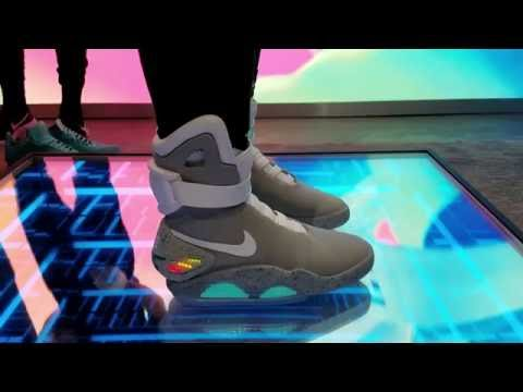 quality design e966a 2d2ef Wearing the  30K NIKE MAG! It Self Laces!!!   nitro licious - YouTube