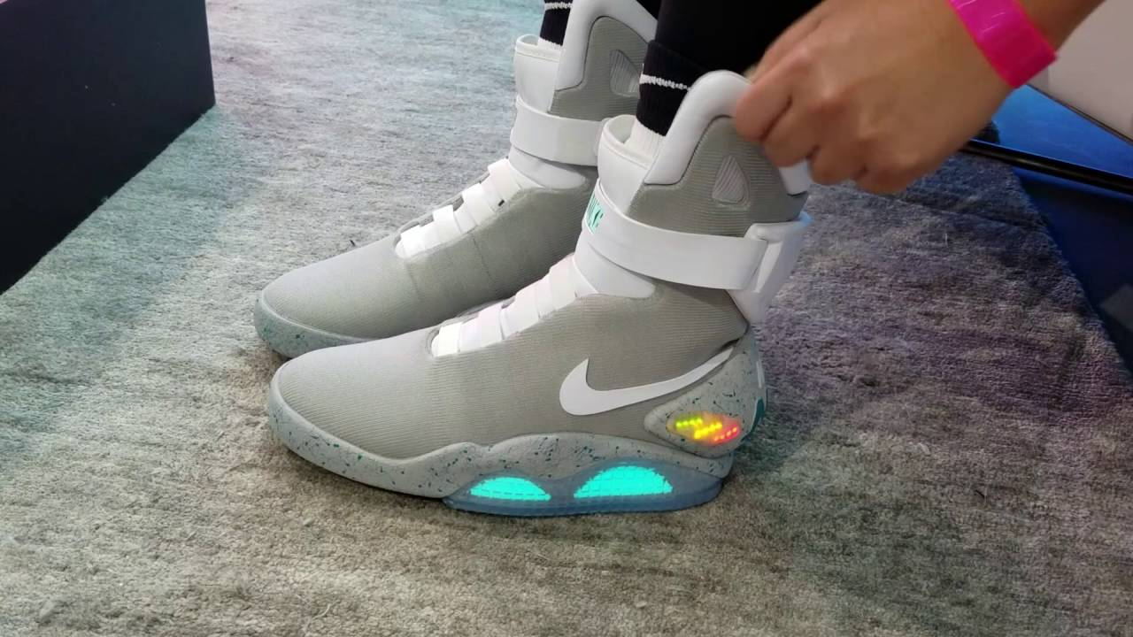 new style 844b7 786cb Wearing the  30K NIKE MAG! It Self Laces!!!   nitro licious