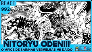 NITORYU ODEN!! (One Piece 992 | Mangá React)