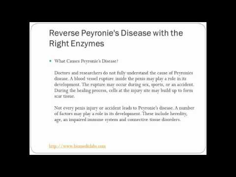 Can Peyronie's Disease Be Reversed With A Natural Supplement Program?