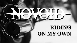 NOVOID - Riding On My Own, (Band Room Session, by NOVOID, Solid Rock) with ROKKER scenes
