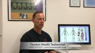 Headaches and Neck Pain --- GONE!  ---  osteopath taunton