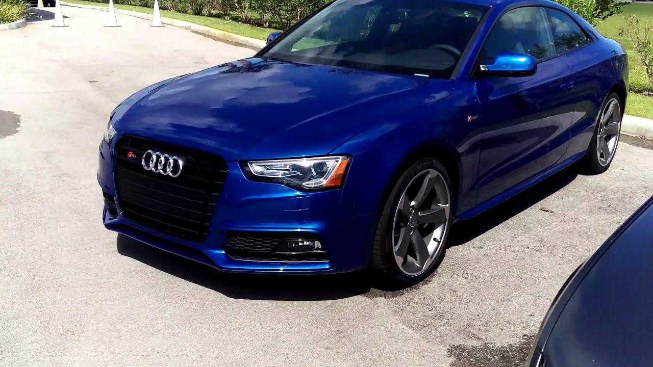 2015 Sepang Blue Audi S5 At Audi Stuart Youtube