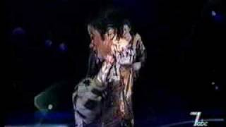 Michael jackson you are not alone live ...