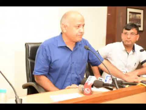 Manish Sisodia Dy CM Delhi inaugurated Data Digitization to protect archival records.