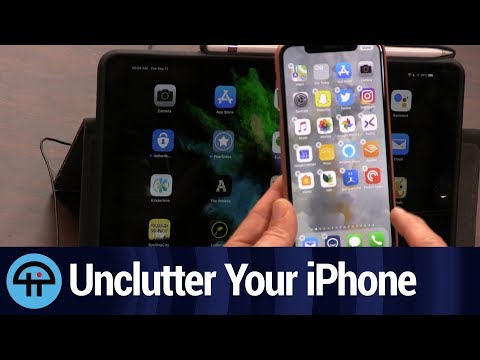 Organize Your iPhone Home Screen