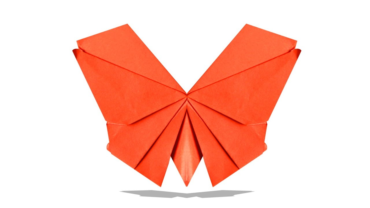 3D Origami Butterfly | DIY Origami Butterfly | Learn ... - photo#23