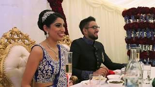 Bride's Brother Surprise Wedding Speech at Nadee, Derby