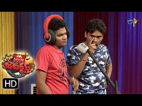 Avinash Karthik Performance | Extra Jabardsth | 11th August 2017| ETV Telugu