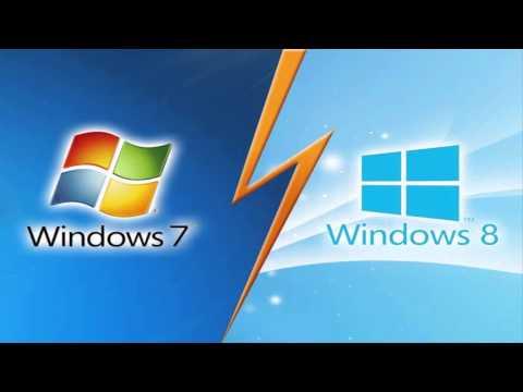 Мини-подкаст: Windows 7 или Windows 8 ? Что лучше ?