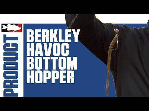 "Berkley Havoc Larry Nixon Bottom Hopper 6.25"" with Justin Lucas on Lake Guntersville"