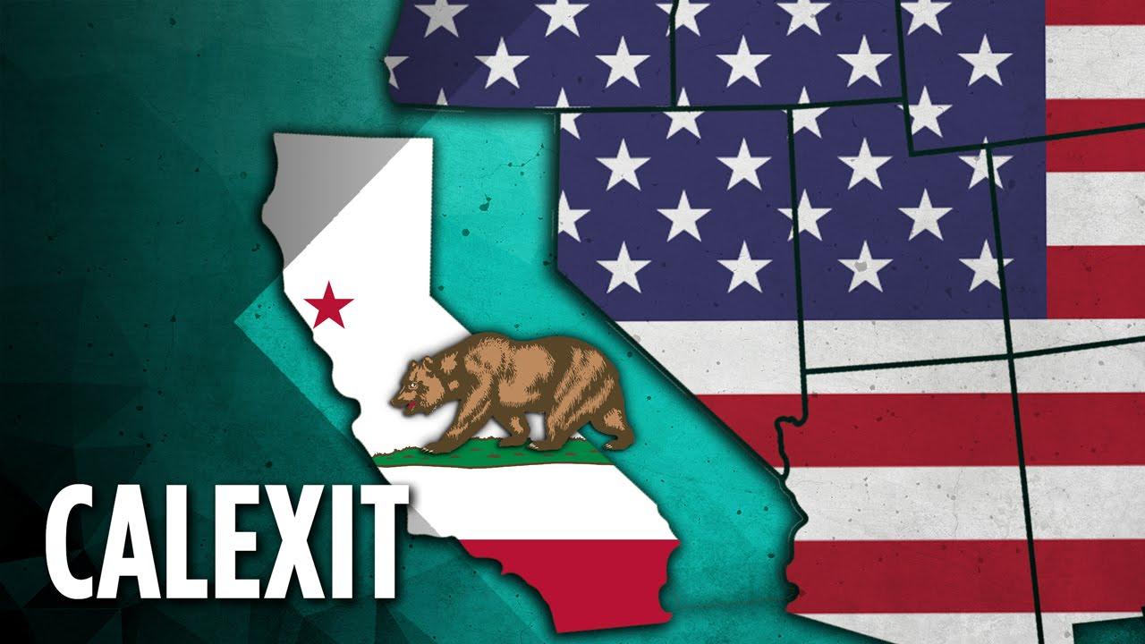 California goes Confederate