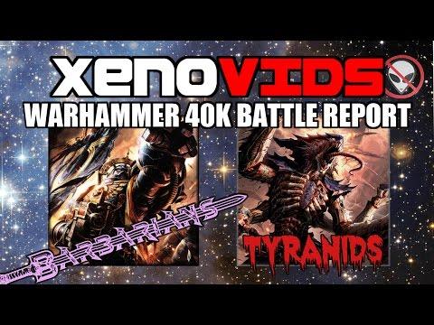 Warhammer 40k Battle Report Space Marines Vs Tyranids