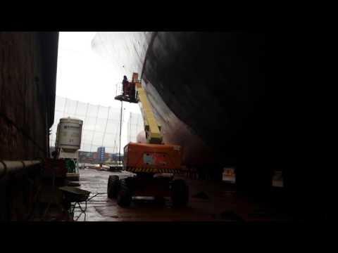 Offshore-Malowanie Statku ....