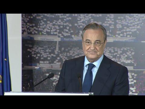 Florentino Pérez es reelegido presidente del Real Madrid