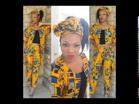 African Kitenge/Leso/Khanga Fabric designs For Ladies